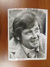Vintage Glossy Press Photo Actor Roger Moore Stars in The Persuaders