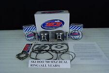 Ski Doo MXZ 700  piston kit complete DUAL ring design