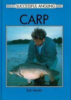 MAYLIN ROB BEEKAY FISHING BOOK SUCCESSFUL ANGLING SERIES CARP hardback NEW