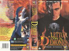 A LETTO CON IL DEMONIO (1998) VHS
