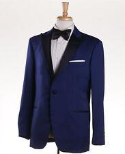 NWT $3995 BELVEST Royal Blue Lightweight Super 150s Wool Tuxedo 40 R (Eu50) Suit