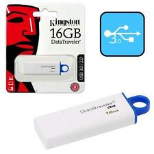 Kingston 16GB USB 3.0 Datatraveler G4 USB DD Flash Memory Pen Drive DTIG4/16GB