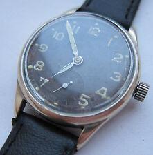 Wristwatch German Army Wehrmacht ALPINA  D period WWII. Military. Cal. 592.