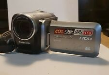 Panasonic Sdr-H40 Camcorder 40Gb Hdd / Card Digital Hard Disc Drive Video Camera