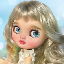 OOAK Custom Repaint Icy Doll By SES Serenity Sailor Moon Anime Blythe Type