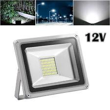 30w LED Floodlights 12v Outdoor Garden Yard Security Lights Daylight White Ip65