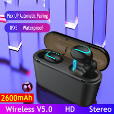 For Samsung Galaxy Note 10/9/8 S20+ Plus TWS Earphone Wireless Headphone Earbuds