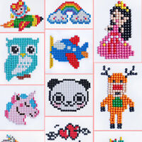 5D Children Diamond Painting Embroidery Craft Stitch Pictures Arts Kit Family