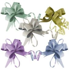 10x Multi Listing of Butterfly Pull Bows 12 - 50mm Pullbows Florist Craft Gold 32mm Glitter