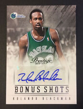 Rolando Blackman Signed 2013-14 Panini Basketball Card 46 Auto Autograph