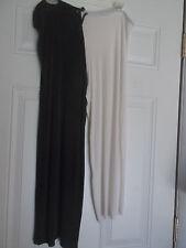 Black/White Unisex Costume Capris - Homemade, approximate size Medium - Large