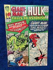 Tales to Astonish #62 Hulk vs Chameleon Giant Man vs Wasp Lee/Burgos/Ditco 1964