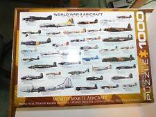 Eurographics Puzzles World War II Aircraft 1000 Pieces