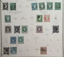 1Cuba 1855-1869 Used Stamp Lot T219
