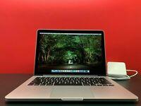 "Apple MacBook Pro 13"" Retina - CORE I7 - 16GB - 1TB SSD - GRAY - OS2015 WARRANTY"