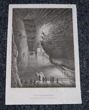 Antique c1859 Print KAMMER PRZYKOS Cave AUSTRIA