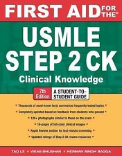 First Aid for the USMLE Step 2 CK, Seventh Edition (First Aid USMLE), Bagga, Her