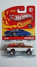 2009 Hot Wheels Classics Series 5 #27 Texas Drive 'Em (Spectraflame Orange)