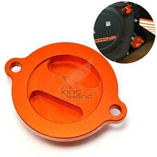 For KTM DUKE 125  CNC Aluminum Engine Oil Filter Cover Cap