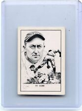 1950 CALLAHAN (NO #) TY COBB, DETROIT TIGERS, HOF, 010318