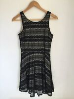 Black Lace Dress,  size 12, River Island, Party Christmas
