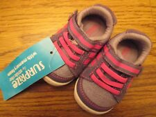 Surprize by Stride Rite Patsy Sport sz 2 purple & pink infant shoes NWT
