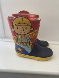 Bob The Builder Wellies Size 9
