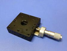 Optosigma Sigma Koki Tsd 601c Linear Translation Stage With Micrometer 13mm