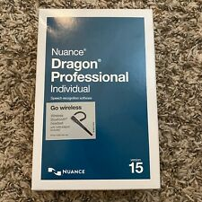 Nuance Dragon Professional Individual 15 with Bluetooth Headset Factory Sealed