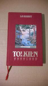 Tolkien Lo Hobbit Edizioni CDE club degli editori Mondadori 1987 raro