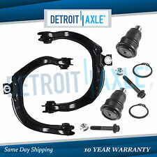 4pc Front Upper Control Arms & Ball Joint for 02-09 Chevy Trailblazer GMC Envoy