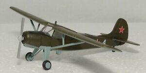 1/87 YAKOVLEV YAK-12 SOVIET AIR FORCE  DIECAST