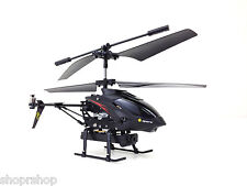 RC Remote Control WL S977 3.5CH Metal Radio Control Gyro Rc Helicopter w/ Video
