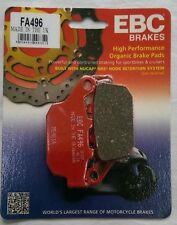 Suzuki SV650 (2016 to 2017) EBC Organic REAR Disc Brake Pads (FA496) (1 Set)
