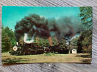 1969 Reader Railroad Steam Engine 108 Tank Cars Nevada Co Postcard K1-1WS7