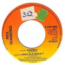 """Neil Diamond - Desirée - 7"""" Record Single"""