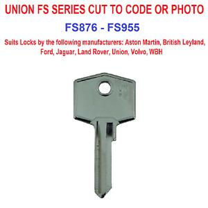 Union Wilmot Breeden FS Series Keys Cut to code FS876-FS955 Classic Cars