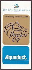 Breeders Cup Program Horse Racing Fan Apparel Amp Souvenirs