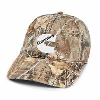 Cummins Realtree® Camo Cap with American Flag Undervisor hunting cap new