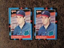 (2) 1988 Donruss Baseball Jack McDowell #47 - Chicago White Sox Legend