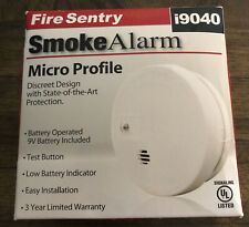 Fire Sentry Micro Profile Smoke and Fire Alarms Model i0940 BATTERY INCLUDED