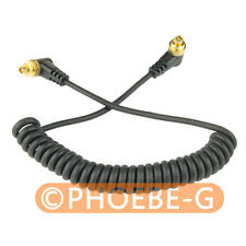 "12"" PC to PC Male to Male Flash PC Sync Cord Cable for Nikon Canon Sony Olympus"