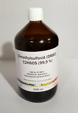 1000 ml DMSO Dimethylsulfoxid 99,9% in Braunglasflasche, laborrein