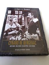 "DVD ""CYRANO DE BERGERAC"" PRECINTADO SEALED MICHAEL GORDON JOSE FERRER MALA POWER"
