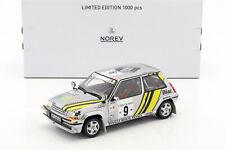 1 18 NOREV Renault Super cinq GT Turbo #9 Rally cote D´ivoire