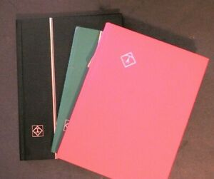 Lighthouse Approval Pages Album Lot of 3 books Medium Size, Empty in Nice Cond.