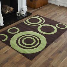 Tapis marron avec des motifs Abstrait modernes pour la maison