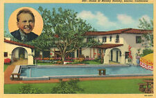 Encino,California,Residence of Mickey Rooney,Linen,#860,c.1940s