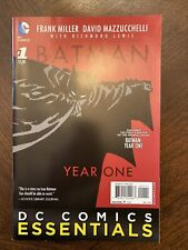 Batman Year One #1 2015 DC Comics Essentials Graphic Novel First Chapter. NM