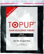 Hair Building Fiber Topup Refill Black 27.5gm